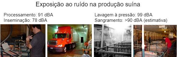 Exposición al ruido en la producción porcina