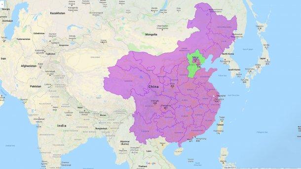 PSA na China