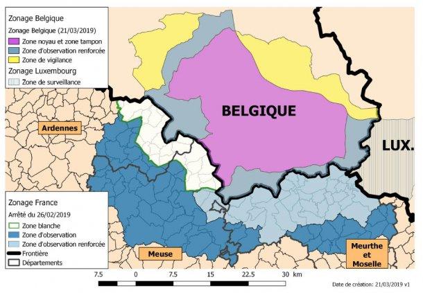 zonas PSA França-Bélgica