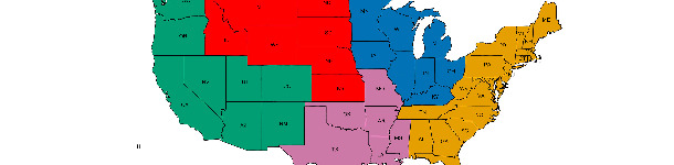 Regiones veterinarias del USDA-APHIS